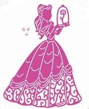 Disney Stanzform Prinzessin / Enchanted Belle DL077