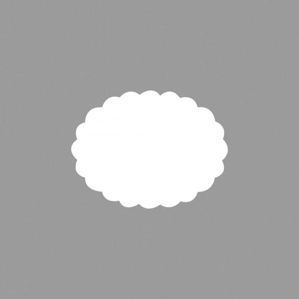 Rayher Motivstanzer Oval gewellt 4,4 x 3,3 cm 89-743-00 ( hell-b