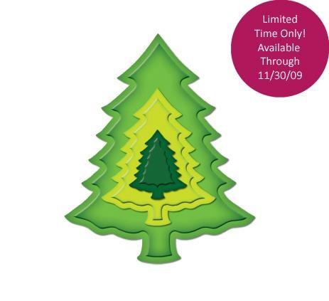 nesting Weihnachtsbaum / pine trees S4-220 / 4290302