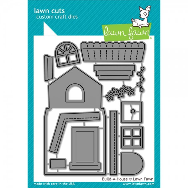 Lawn Fawn Stanzform Build-A-House LF2046