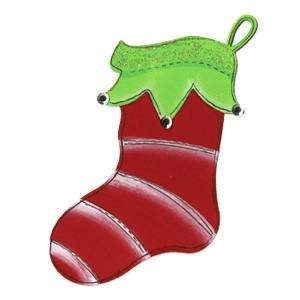 Sizzix Stanzform Originals LARGE Weihnachtsstrumpf # 2 / stocking # 2 655660