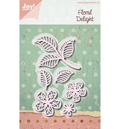 Joycrafts Stanzform Blumen u. Blätter / Floral Delight 6002/1114