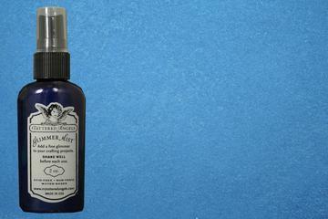 Glimmer Mist Sapphire r ( blau ) 02802-2