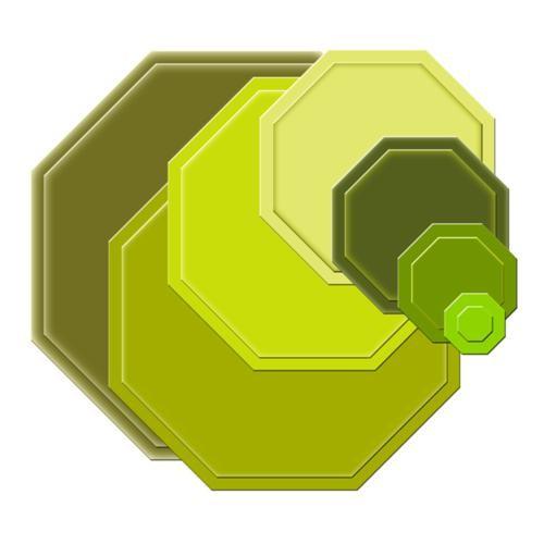 Spellbinders Stanzform Achtecke klein / small octagons S4-186