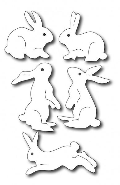 Frantic Stampers Stanzform Hasen / Assorted Bunnies FRA-DIE-09814
