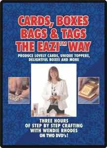 DVD Cards, Boxes, Bags & Tags with the EAZI WAY (dunkel-blau )