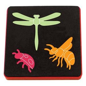 Allstar BIGZ Stanzform Biene, Libelle u. Marienkäfer / Bee, Dragonfly & Ladybug A 10739