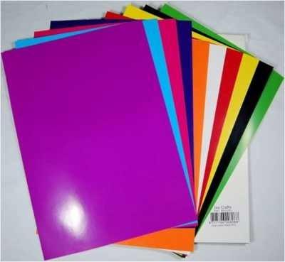 Joycrafts Glacé-Papierblock A 4 ( 50 Blatt ) 8011-0301