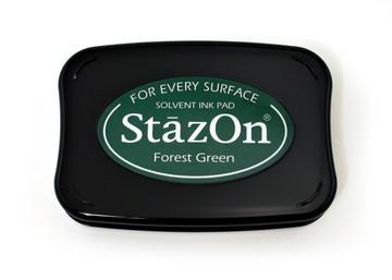 StazOn Stempelkissen dunkelgrün / forest green SZ-000-099 / TS