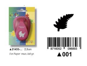 Motivstanzer Farn medium ( bordeaux ) 21435-001