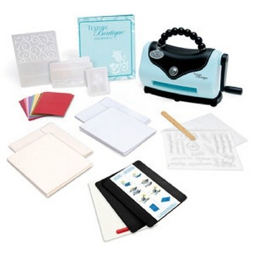 Texture Boutique Prägemaschine Starterkit 656 280