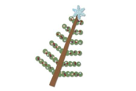 Sizzix Stanzform BIGZ Weihnachtsbaum & Schneeflocke / tree Christmas & snowflakes 657058