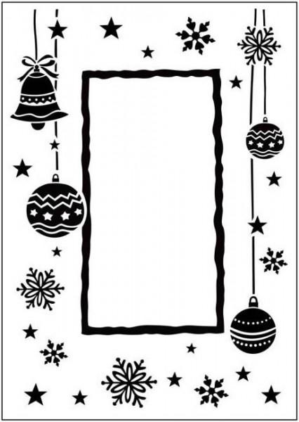 Prägefolder exclusiv Happy Christmas Frame CTFD3033