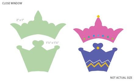 Motivstanzer Kronen / crowns 92090