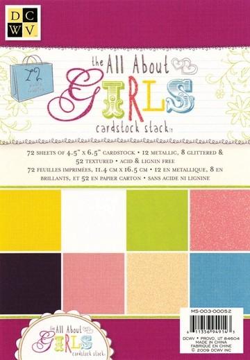 Papierblock GIRLS 11,4 x 16,5 cm MS-003-00052