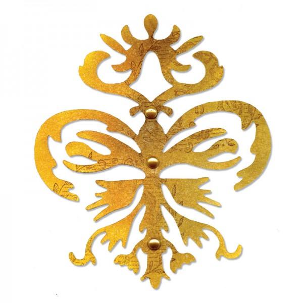 Sizzix Stanzform Sizzlits groß Ornamental Crest 657737