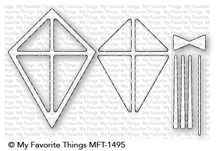 Dienamics Stanzform Drachen / Kite Shaker Window & Frame MFT-1495