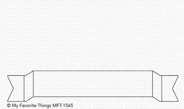 Dienamics Stanzform Folded Fishtail Banner MFT-1565