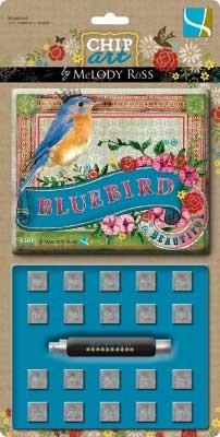 GCD Studio Präge-Zahlen Bluebird 506