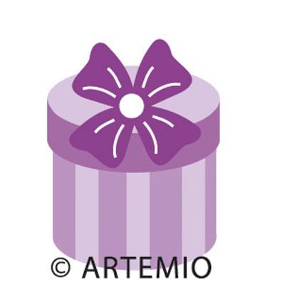 Artemio Happycut Stanzform 5,2 x 5,2 cm Geschenk # 5 / gift 18020013