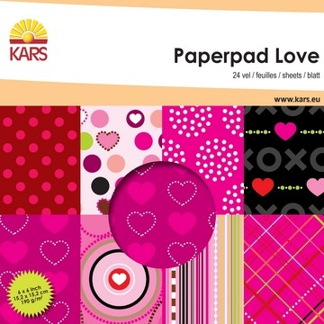 Paperpad LOVE 15,2 x 15,2 cm 001861/0005 od.117000/0005