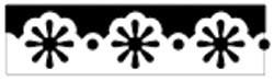 Martha Stewart Border - Stanzer daisy dot 42-40023