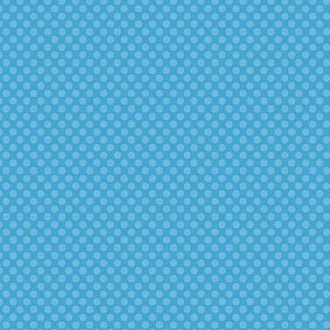 "Core'dinations Core Basics Cardstock 12 "" x 12 "" HELL-BLAU Punkte groß / Light Blue Large Dots GX-23"