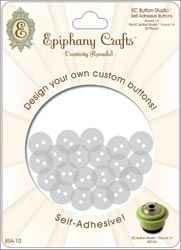 Epiphany Knopf selbstkl. rund 1,4 cm Buttons Round 14 BSA-10