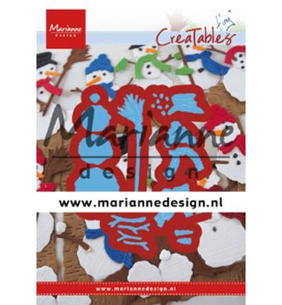 Marianne D Stanzform Creatables Schneemann / Snowmen LR0631