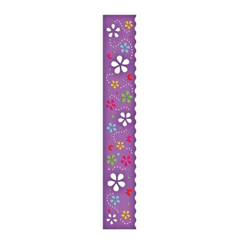 Spellbinders Stanzform Border Grand Flower Whimsy S7-012