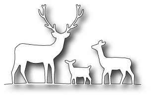 Memory Box Stanzform Hirsch-Trio / deer trio 98166