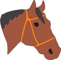 Cheery Lynn Stanzform Pferdekopf / horse head A180