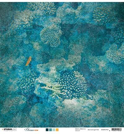 Studio Light Scrapbook-Papier Ocean View Nr. 03 SCRAPOV03