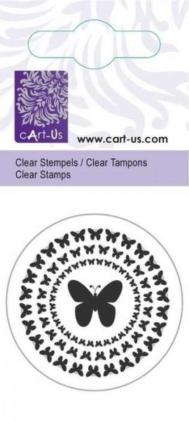Clear Stempel Schmetterlingkreis 180009/2063