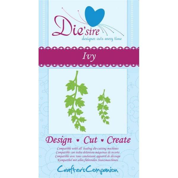 Crafter' s Companion Die'sire Stanzform Efeu-Zweige / Ivy DS-IVY