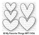 Dienamics Stanzformen Herzen / Lots of Hearts MFT-1456