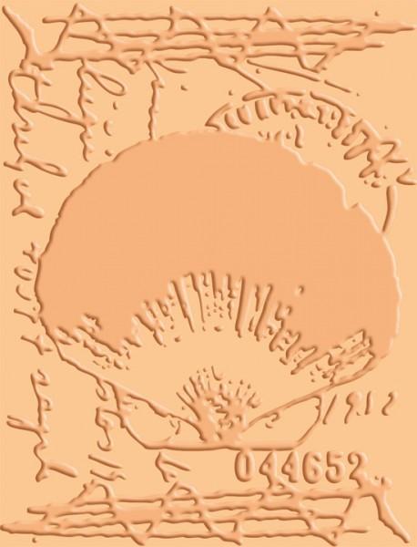 Cuttlebug Prägefolder Shell Collage 37-1611