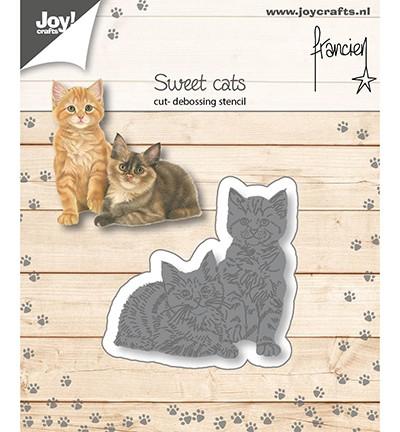 Joycrafts Stanzform Katzen / Seet Cats 6002/1359