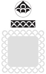 Martha Stewart Punch around the page double loops 42-60002