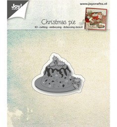 Joycrafts Stanzform Weihnachtstorte / Christmas Pie 6002/0946