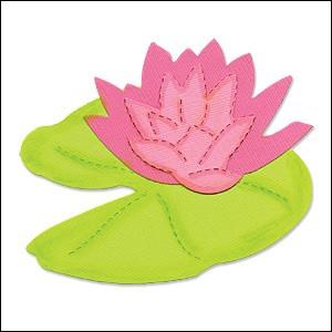 Allstar BIGZ Stanzform Wasserlilie / Flower Water Lily & Pad A 10728