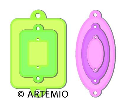 Artemio Happycut Stanz-u. Prägeformen Label 18042004