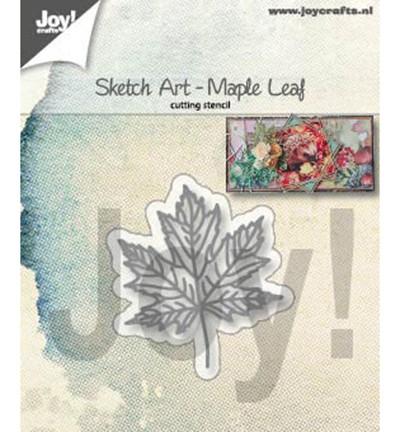 Joycrafts Stanzform Ahornblatt / Sketch Art - Maple Leaf 6002/1355
