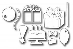 Frantic Stampers Stanzform Geburtstagssymbole / Birthday Icons FRA-DIE-09777