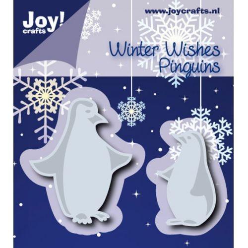 Joycrafts Stanz-u. Prägeform Pinguin / Pinguins 6002/0582