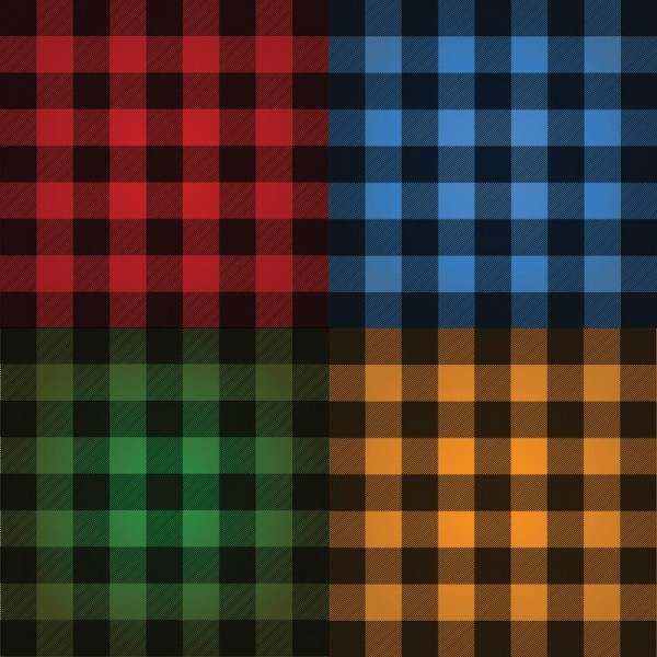 "REMINISCE Cardstock 12 "" x 12 "" Karriert rot-blau-grün-orange-schwarz / Buffalo Plaid Perfectly Pla"