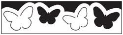 Martha Stewart Border-Stanzer pop-up butterflies 42-40009