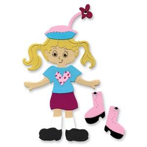 Sizzix Stanzform BIGZ Teenie Girl outfit 655720