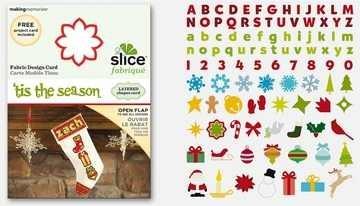 SLICE Fabrique Designkarte ´tis the season 36487