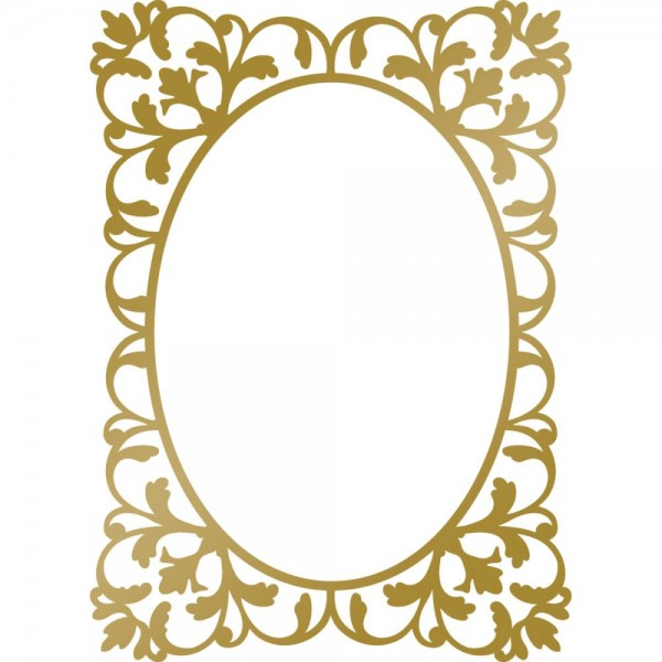 Couture Creations Hotfoil Stamp Rahmen / Classic Frame CO725297